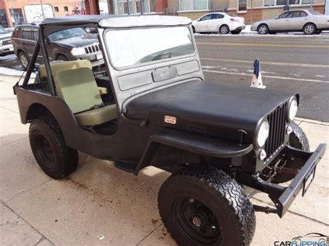 Cj3 Jeep 1950 Jeep Cj3 Black Ops Edition Carflipping