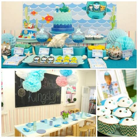 Octonauts Decorations by Octonauts Themed Birthday With Lots Of Great Ideas