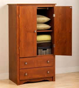 cherry monterey 2 door armoire modern armoires and wardrobes