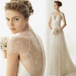 vintage lace wedding dresses striking collections of vintage lace wedding dresses with cap sleeves cherry