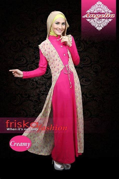 Dress Pesta Solemio Bunga Fanta busana muslim koleksi terbaru