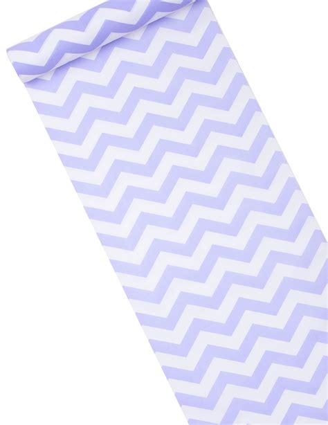 chemin de table tissu chemin de table tissu chevron lavande et blanc