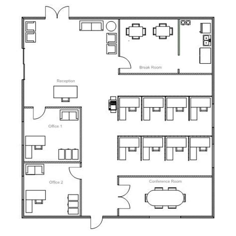 office layout design template office breakfast pinterest office floor plan and
