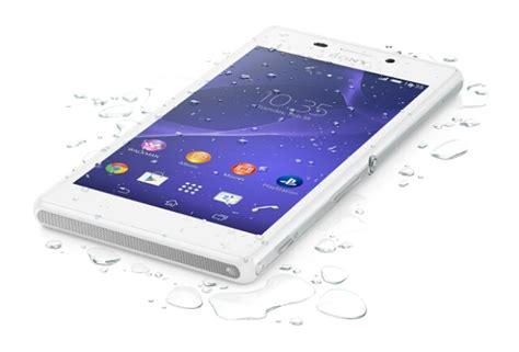 Hp Sony Ericsson M2 Aqua xperia m2 aqua announced 4 8 inch waterproof mid range