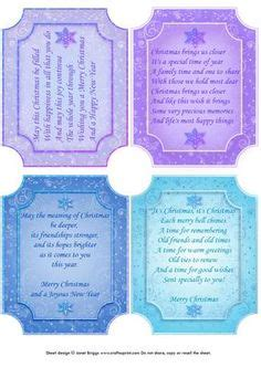 Verses For Handmade Cards - details about 25 card inserts verses 2