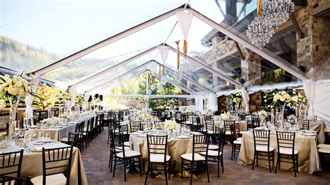 Wedding Ceremony Reception by St Regis Deer Valley Utah Venue Market