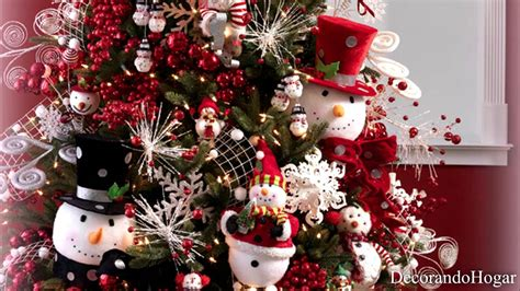 decoracion arbol de navidad blanco decoraci 243 n 193 rbol de navidad color rojo y blanco