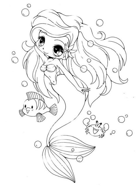 baby mermaid coloring pages kids coloring