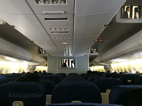 Airlines Cabin Pictures by Trip Report United Airlines Economy Class San Francisco To Tokyo Narita Sanspotter