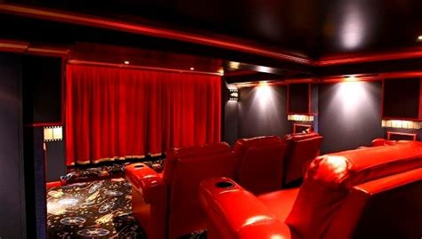 curtains up theater two thumbs up for home theatre curtains curtain tracks com