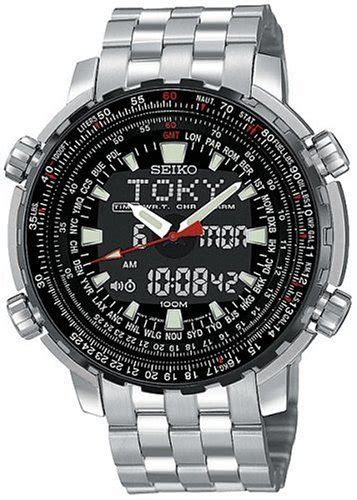 buy seiko s snj017 analog digital world time flight