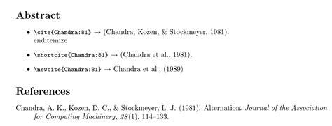 apa format et al bibtex apa style citation allow author names outside