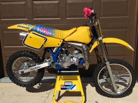 Suzuki Motorcross 1990 Suzuki Rm80 Vintage Motocross Bike