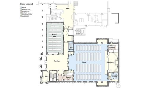 catholic church floor plan saint patrick catholic church clark architects collaborative 3