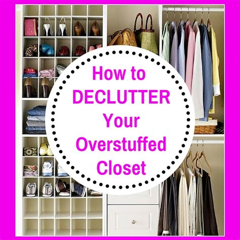 How To Declutter Your Wardrobe by How To Declutter Your Closet How To Declutter The