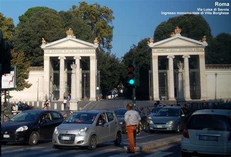 villa borghese ingresso ingresso monumentale di villa borghese roma