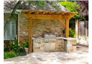 Outdoor Grill Pergola by Bbq Mdc General Contractors