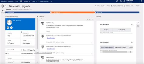 Desk Crm by Spotlighting Service In Microsoft Dynamics Crm 2016