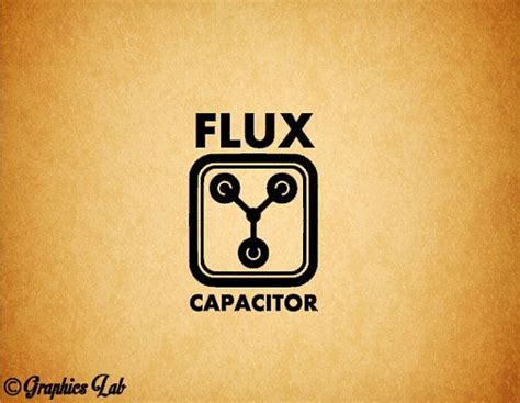flux capacitor tattoo flux capacitor decal back to the future inspired by