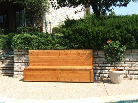 poolside benches cedar poolside bench archives granbury decks and more