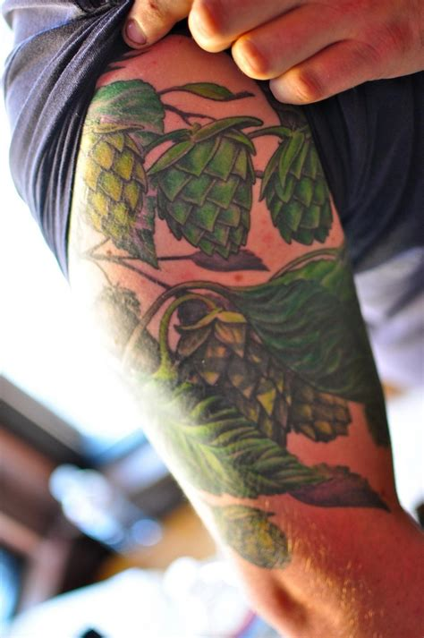 hops tattoo hops