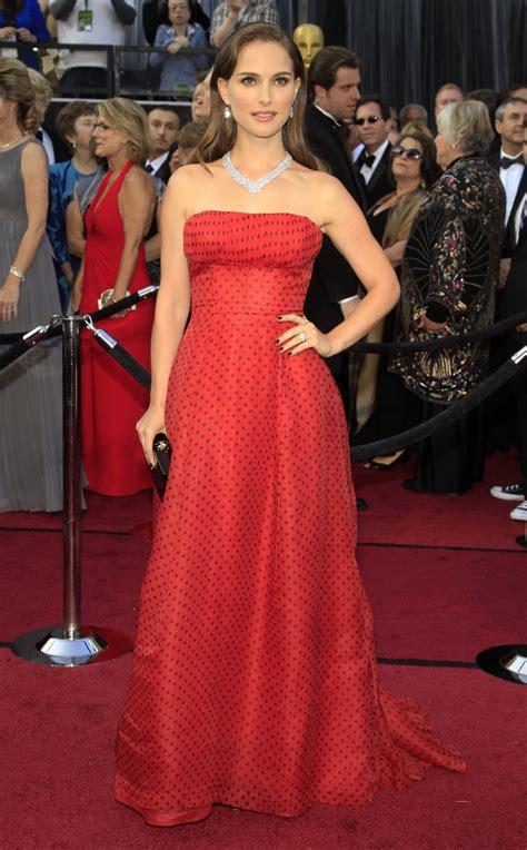Natalie Portman: Natalie Portman Red Dress