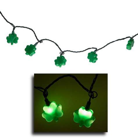 shamrock string lights st s day shamrock string lights