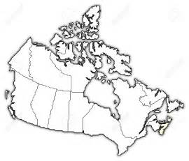 blank map of canada with provinces canadian province scotia coloring page