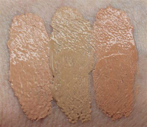 Zoya Bb Foundation n coverall foundation swatches 2 vy