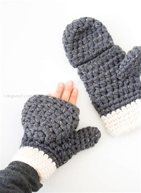 crochet pattern chunky yarn millbrook chunky mittens free crochet mittens and crochet