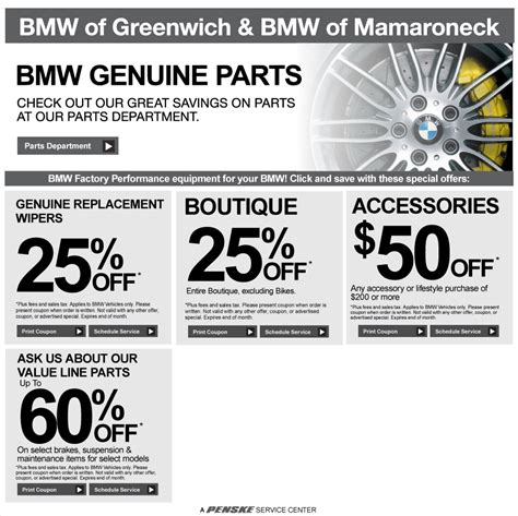 Bmw Service Coupons by Valid Only At Port Chester Bmw Service Bmw Of Greenwich
