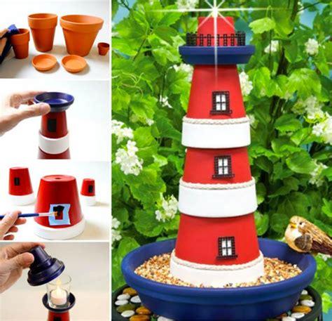 vasi di terracotta decorazioni da giardino con vasi di terracotta