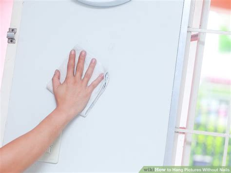 hanging without nails 5 ways to hang pictures without nails wikihow