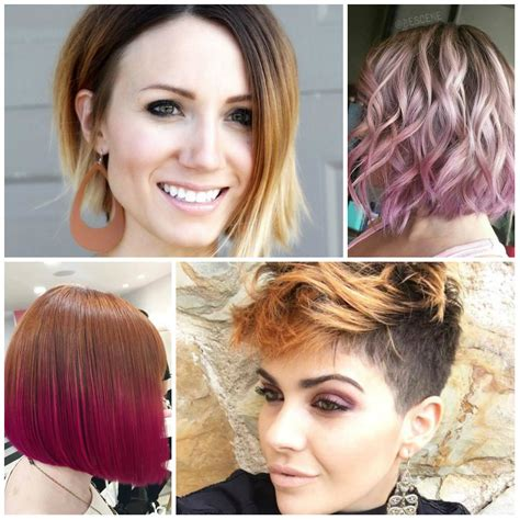 short hairstyles and color for 2017 trendy ombre hair colors for 2016 2017 best hair color