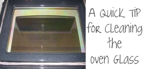 How To Clean Glass Door On Oven learn how to clean the oven glass somewhat simple