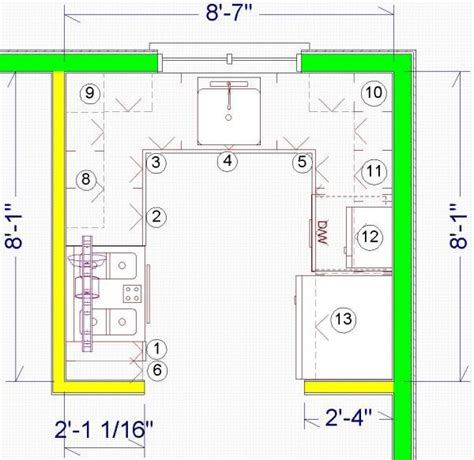 Floor Plans Narrow Lot by Small Kitchen Plans Large And Beautiful Photos Photo To