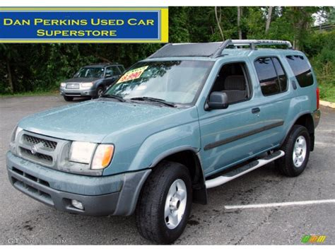 2001 mineral blue metallic nissan xterra se v6 4x4 51478597 photo 6 gtcarlot car color