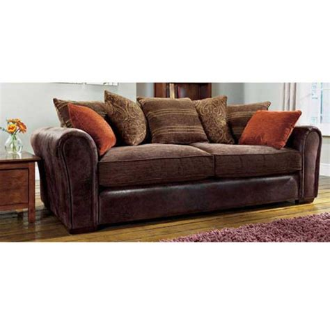 Sofa With Leather And Fabric 21 Best Ideas Leather And Material Sofas Sofa Ideas