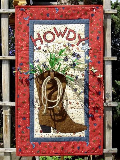 cowboy boot quilt pattern woodworking projects plans