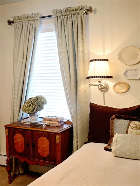 How To Curtains For Bedroom by Easy Sew Lined Window Treatments Hgtv