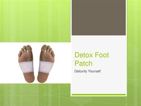 What Is A Detox Foot Patch by Detox Foot Patch