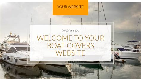 Exle 7 Boat Covers Website Template Godaddy Boat Cover Templates