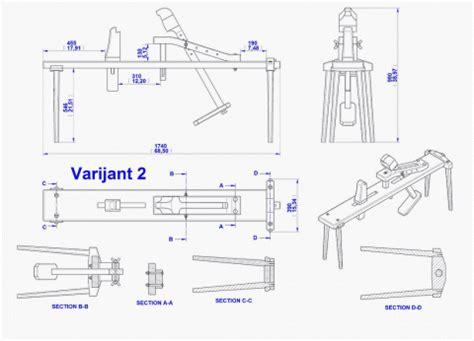 drawing horse bench plans shaving horse plan
