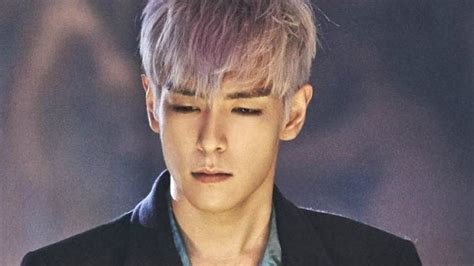 oh yeah top hairstyles bigbang big bang t o p burst into tears after hearing these words