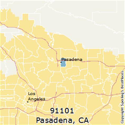 zip code map pasadena ca best places to live in pasadena zip 91101 california