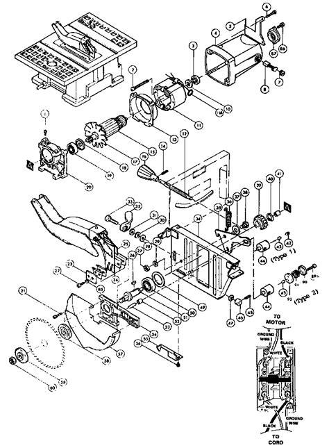 makita table saw parts makita 8 quot table saw parts model 2708 sears partsdirect