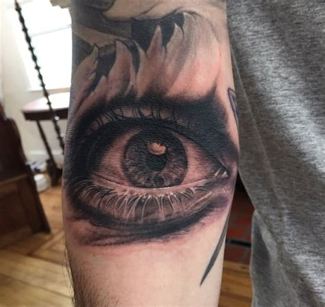 tattoo eye black and grey 29 inspiring eye tattoos on arm