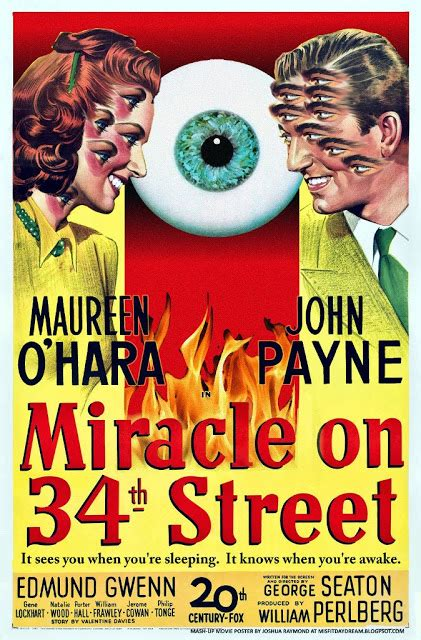 miracle on 34 street misfit robot daydream mixed up movie posters 4 miracle