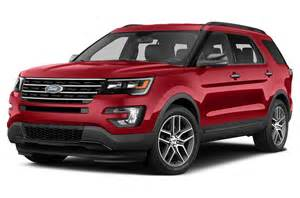 Price Ford New 2016 Ford Explorer Price Photos Reviews Safety