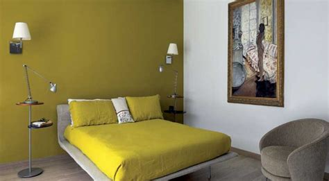 parete verde da letto colori pareti per la da letto
